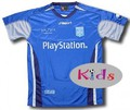 Auxerre away junior shirt 2006