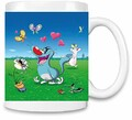 Brandino Oggy Olivia Les cafards - Oggy Olivia and Cockroaches Unique Coffee Mug | 11Oz| High Quality Ceramic Cup| The Best Way to Surprise Everyone on Your Special Day| Custom Mugs by