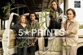 Fear The Walking Dead Poster Photo 12x8 Signed PP by 5 Cast Cliff Curtis, Alycia Debnam-Carey, Kim Dickens, Frank Dillane, Robert Kirkman Style C by 5 Star Prints